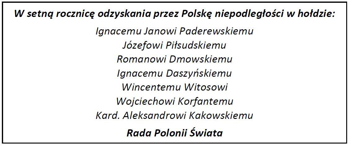 RADA POLONII ŚWIATA